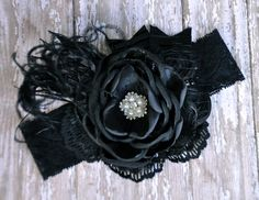 Midnight dreary boutique headband