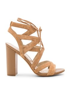 Sam Edelman Yardley Heel in Camel Suede