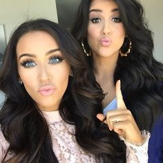 My Two Favorite Beauty Vloggers. Carli Bybel & Nicole Gurriero.
