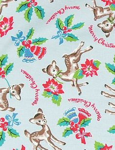 Cath Kidston Christmas, Christmas Wrapping, Rooster, Deer, Kids Rugs, Touch, Wallpaper, Phone, Fabric