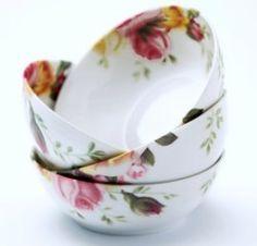 Royal Albert - Bowls Royal Albert, Tea Time, Tableware, Bowls, Kitchen, Serving Bowls, Dinnerware, Cooking, Tablewares