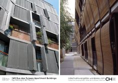 Dwelling 1 facade – Page 3 – Collective Housing Atlas Amazing Buildings, Sustainable Design, Rue, Facade, Around The Worlds, Construction, Architecture, Modern, Building Products