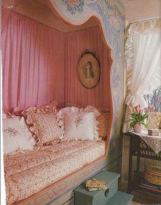 Cupboard Bed..☺