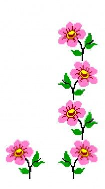 Embroidery Patterns Free, Machine Embroidery, Ribbon Embroidery, Cross Stitch Embroidery, Cross Stitch Designs, Cross Stitch Patterns, Cross Stitch Rose, Tapestry Crochet, Counted Cross Stitches