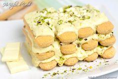 Tiramisù al pistacchio e cioccolato bianco, ricetta | Ho Voglia di Dolce