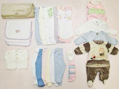 Itens da mala de maternidade para o bebê: organize as mudas completas em envelopes