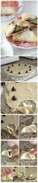 kiss pies#simple#chocolaty#yum
