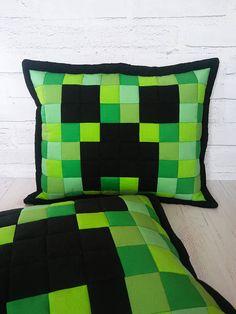 Minecraft Creeper face pillow