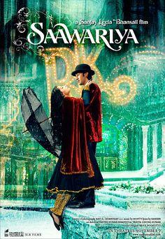 Saawariya (2007) | Director: Sanjay Leela Bhansali | Adaptação cinematográfica indiana de Noites Brancas, deDostoiévski