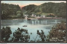 King Harry Passage, River Fal, Cornwall, 1911 - Wrench Postcard