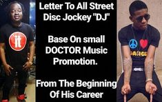 "Entertainment: DJ Real writes Small Doctor an open letter calls him stingy and ingrate   Rumor has it that there's been a silent war between popular street Disc Jockey DJ Real and famous street pop star Small Doctor. Recently Dj Real took his time to pen a lengthy open letter to address the issue calling Small Doctor 'Self centered and Stingy' and warning him to take off his record label name from all his social media pages. The open letter below: ""I am writing this Open Letter to all street…"