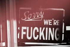 New sign for my door