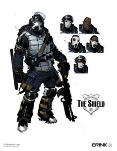 The Shield Archetype Concept art - Brink (Pinned