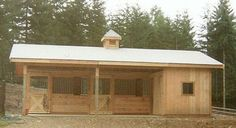small horse stable | Horse barns, barn kit, barn kits