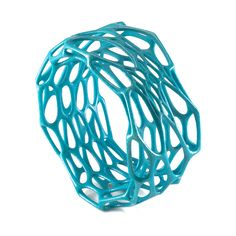 Cell Cycle jewelry in turquoise by nervous system, via Flickr