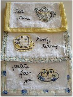 Darling tea towels  :)