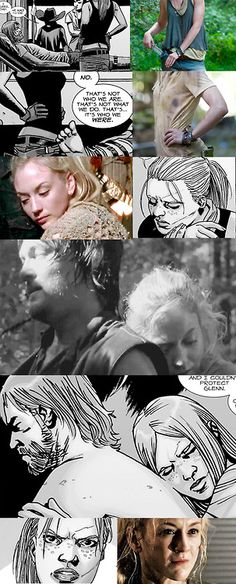 Rick and Andrea (comics) vs. Daryl and Beth It kinda struck me while reading up on the comics, how much Bethyl favors Rick and Andrea in the comics. Individually and together. There are too many...