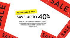 Save up to on women and kids items at Nordstrom with their Half-Yearly Sale! No coupon required. Nordstrom Coupon, Nordstrom Half Yearly Sale, Nordstrom Sale, Clothes For Sale, Clothes For Women, One Day Sale, Got Online, Gifted Kids, Save The Children