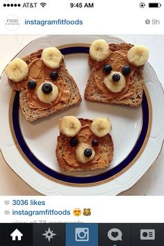 Adorable breakfast for kids