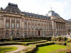 """Royal Place Royal Place, which was the inspiration for the castle in """"King Ottokar's Sceptre. Brussels, Wander, Castle, Louvre, King, Sky, Places, Travel, Inspiration"""