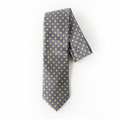 "Spotted Ash by TuVous - $10.00  Risen from ash to gold, in this tie you will ""rise up"" too.  Available at www.stylishvous.com"