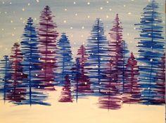Paint Nite Londonon | Flavurs December 2