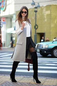ZARA STUDIO Pearl Grey Sleeveless Coat Vest Waistcoat Gilet Blogger Sold Out