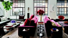 [Photo by Douglas Friedman for Architectural Digest] In 2011, Hollywood power couple Naomi Watts and Liev Schreiber bought two Tribeca apartments (one an artists' loft) that they later converted...