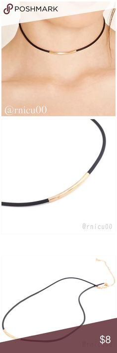 "Simple Black Leather Choker! Simple Style with this Black Leather Choker, perfect for the Minimalist!   • Nickel & Lead Free  ➖Prices Firm, Bundle for 20% Discount ➖""Trade"" & Lowball Offers will be ignored ➖Sales are Final, Please read Description & Ask Any Questions! Boutique Jewelry Necklaces"