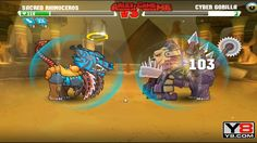Boss Mutant Fighting Cup 2 (Africa Cup 15) Sacred Rhinoceros VS Cyber Gorilla (Dog Part 35)