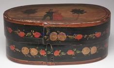 bride's box, 18th or 19th century