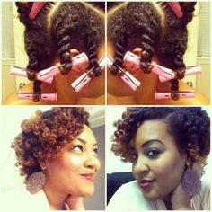 Twist and curl - http://www.blackhairinformation.com/community/hairstyle-gallery/natural-hairstyles/twist-curl/