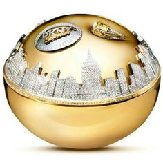 DKNY Golden Delicious. DKNY teamed up with famed jewellery designer Martin Katz to create the unique bottle which houses the latest Golden Delicious scent. A one of a kind priced at $1,000,000.