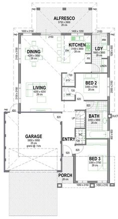 For 2 Storey Double Storey Home Designs Under $250k in Mandurah | Bunbury | Perth | Busselton | Southwest |The Austin Cove Storey Homes, The Austin, House Plans, Floor Plans, House Design, How To Plan, Blueprints For Homes, Architecture Illustrations, House Floor Plans