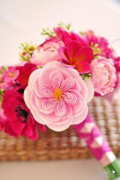 #Pink #Wedding #Bouquet #Ideas …