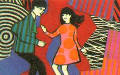 This looks so familiar - must have seen it somewhere! 60's card illustration