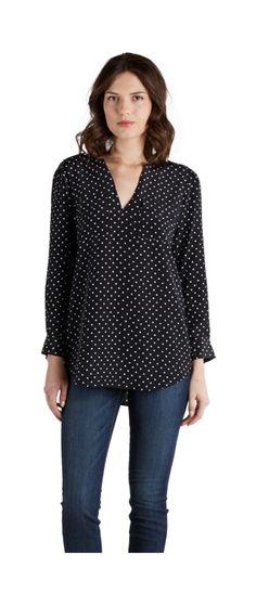 Polka dot shirt - love