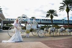 Cinderella's Crystal Coach is fit for a princess. Photo: Beth at Disney Fine Art Photography
