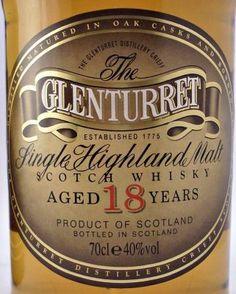Glenturret 18 year old Scotch Whisky 40% 70cl - Highland Region - The Specialist Whisky Shop | whiskys.co.uk
