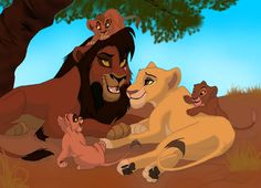 royal family Lion King Series, The Lion King 1994, Lion King Fan Art, Lion King Movie, Disney Lion King, King 3, Hakuna Matata, Lion King 2 Kovu, Anime Lion