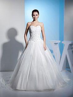 Marcelyn - Бальное платье Атласная свадебном платье с Аппликации - RUB 16959,23руб.