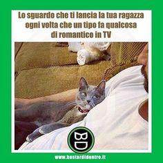 Conosco quello sguardo talmente bene che non lo noto più! #bastardidentro #ragazza #romanticismo… www.bastardidentro.it