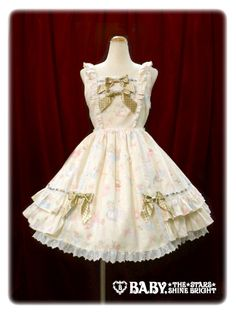 Baby, The Stars Shine Bright: Rainbow Prism♪ Alice-chan Pattern JSK (ivory)