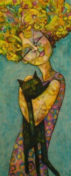 """""""Let me not pray to be sheltered from dangers,but to be fearless in facing them.Let me not beg for the stilling of my pain, butfor the heart to conquer it."""" ― Rabindranath Tagore♪ Arte de Teresa Mundt"""