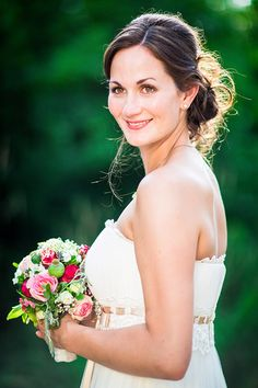 natural wedding hair style