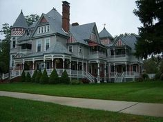 Victorian house, Michigan.