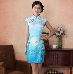 sexy chinese traditional clothing cheongsams qipao dress 2015 S M L XL XXL plus size