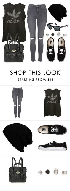 """""""Style #10250"""" by vany-alvarado ❤ liked on Polyvore featuring Topshop, adidas, Vans, Mulberry and Ray-Ban"""