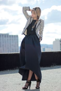 skirt + shoes.