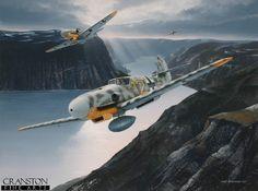 Tribute to Oberleutnant Heinrich Ehrler by Ivan Berryman. - IvanBerryman.com